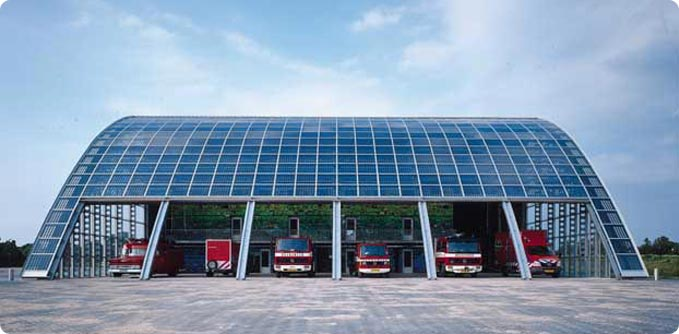 Houten Fire Station in Belgium