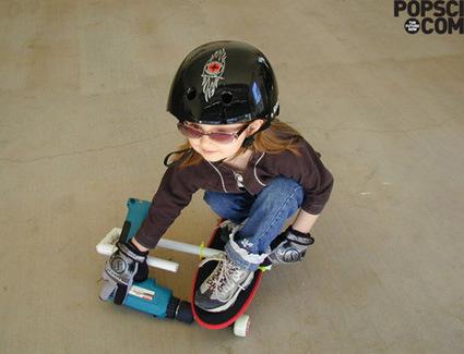 powered-skateboard