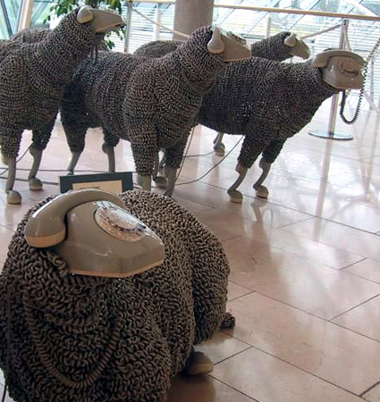 telephone-cord-sheeps