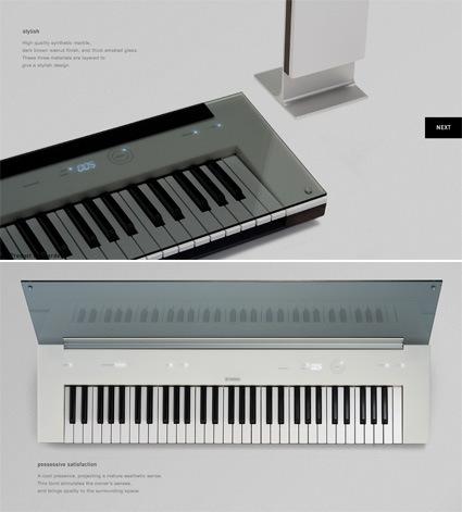 yamaha-concept-piano-key-near-window