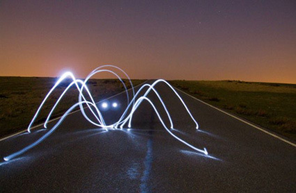 AMAZING LIGHT GRAFFITI