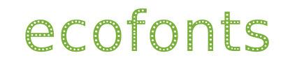 eco-fonts