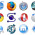 Why are Browser Icons Round and Blue?