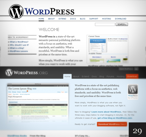 redesign_website_WordPress